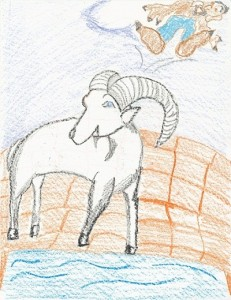 Billy Goat Gruffs troll off bridge